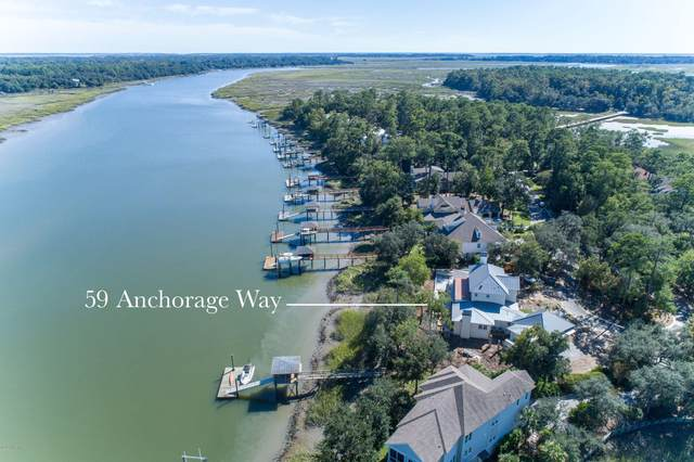 59 Anchorage Way, Beaufort, SC 29902 (MLS #168340) :: Shae Chambers Helms | Keller Williams Realty