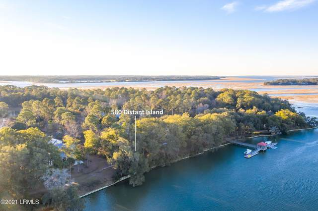 580 Distant Island Drive, Beaufort, SC 29907 (MLS #169723) :: Shae Chambers Helms | Keller Williams Realty