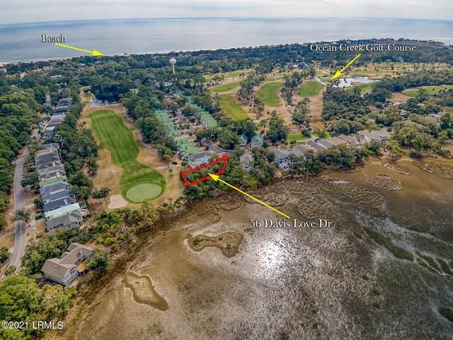 56 Davis Love Drive, Fripp Island, SC 29920 (MLS #169866) :: Coastal Realty Group