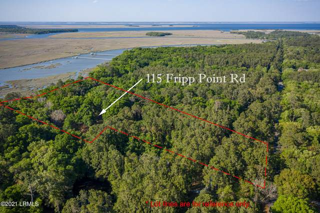 115 Fripp Point Road, St. Helena Island, SC 29920 (MLS #170443) :: Coastal Realty Group