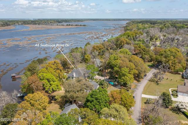 48 Seabrook Point Drive, Seabrook, SC 29940 (MLS #170564) :: Shae Chambers Helms | Keller Williams Realty