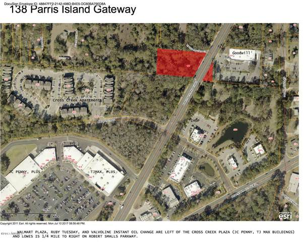 138 Parris Island Gateway, Beaufort, SC 29906 (MLS #153194) :: Coastal Realty Group