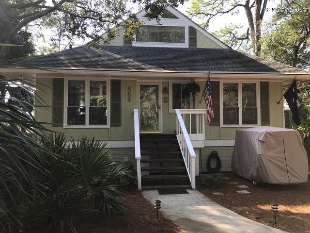 866 Sabal Court, Fripp Island, SC 29920 (MLS #154639) :: RE/MAX Coastal Realty