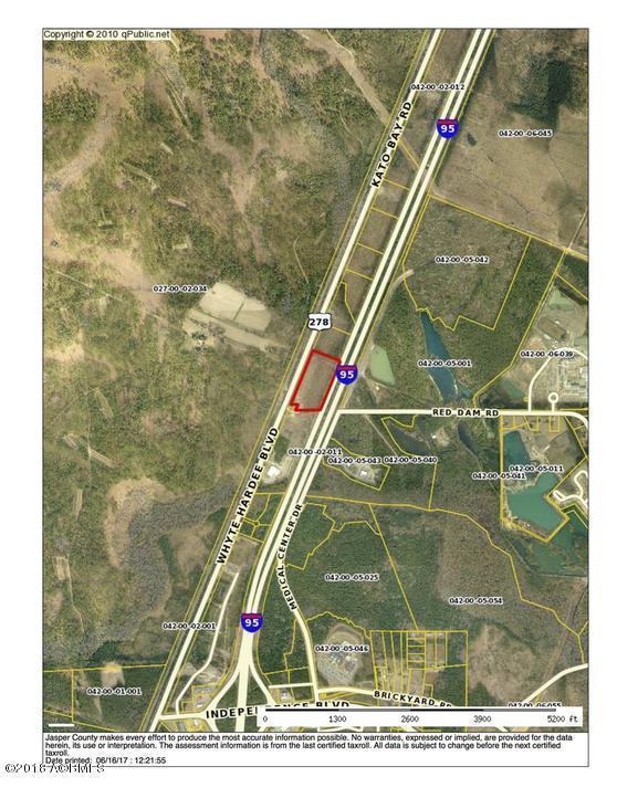 0 Whyte Hardeeville Boulevard, Hardeeville, SC 29927 (MLS #155607) :: RE/MAX Island Realty