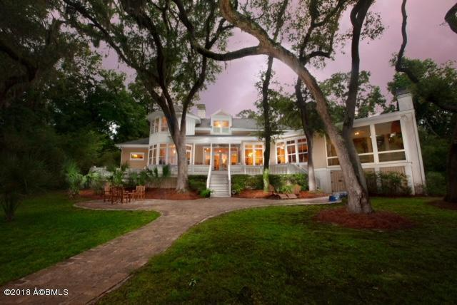 202 Bull Point Drive, Seabrook, SC 29940 (MLS #158568) :: RE/MAX Coastal Realty