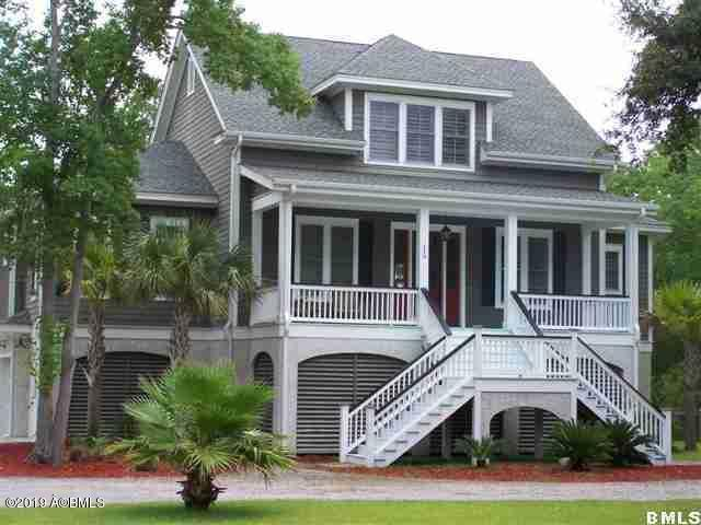 119 Dolphin Point Drive, Beaufort, SC 29907 (MLS #162344) :: RE/MAX Coastal Realty