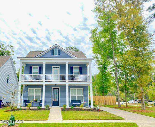 3614 Oyster Bluff Drive, Beaufort, SC 29907 (MLS #170694) :: Shae Chambers Helms | Keller Williams Realty