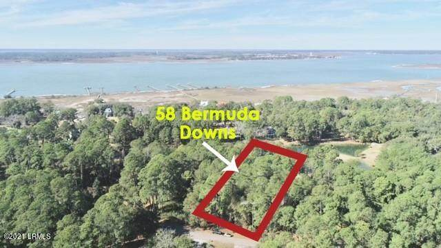 58 Bermuda Downs, St. Helena Island, SC 29920 (MLS #169475) :: Shae Chambers Helms | Keller Williams Realty