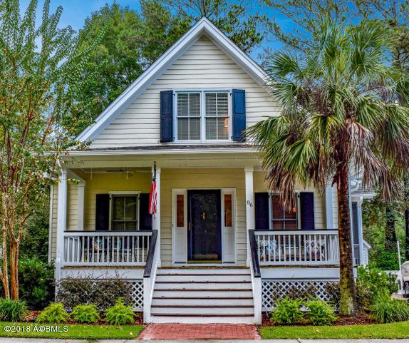 86 Bostick Circle, Beaufort, SC 29902 (MLS #159139) :: RE/MAX Island Realty