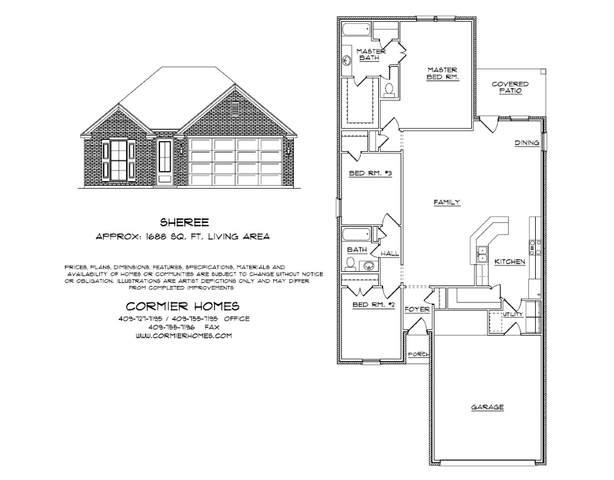 10050 Dominion Ranch, Port Arthur, TX 77640 (MLS #215366) :: Triangle Real Estate