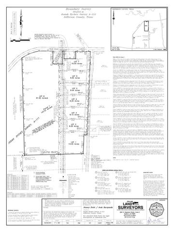 5025 Tolivar Canal Road Lots 6 & 7, Beaumont, TX 77713 (MLS #216678) :: Triangle Real Estate
