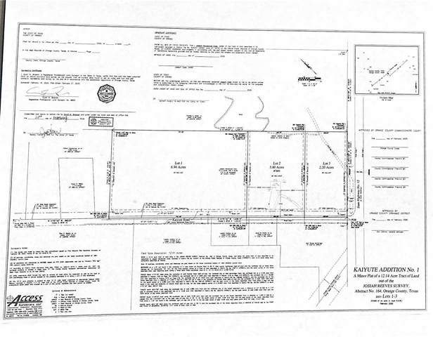 TBD Kaiyute Rd, Orange, TX 77632 (MLS #220466) :: Triangle Real Estate