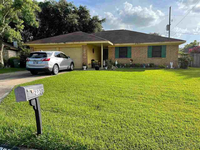 2230 Woodside Dr, Beaumont, TX 77707 (MLS #221384) :: Triangle Real Estate