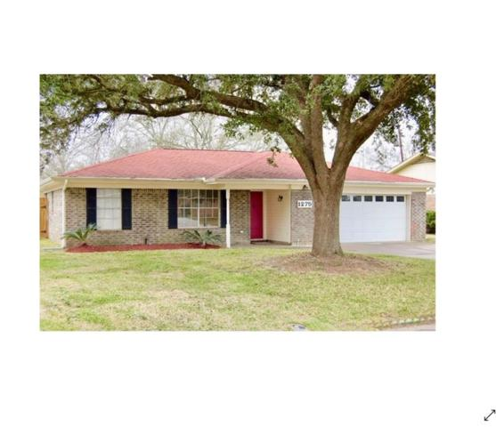 1275 Elaine Drive, Beaumont, TX 77706 (MLS #201292) :: TEAM Dayna Simmons