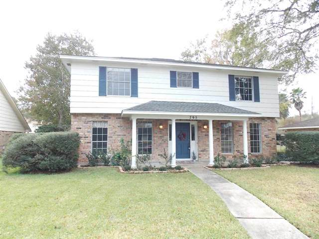 795 Norwood Dr., Beaumont, TX 77706 (MLS #213371) :: TEAM Dayna Simmons