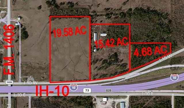 39.690 AC Ih-10, Winnie, TX 77665 (MLS #215766) :: TEAM Dayna Simmons