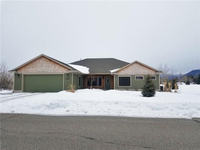 600 Cole Drive, Red Lodge, MT 59068 (MLS #292060) :: Realty Billings