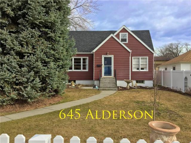 645 Alderson, Billings, MT 59101 (MLS #294200) :: Search Billings Real Estate Group