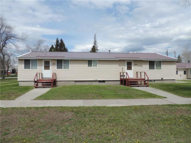 200-202-206 E 4th Ave., Big Timber, MT 59011 (MLS #297227) :: Realty Billings