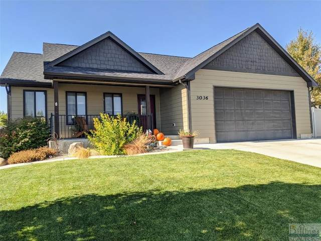 3036 E Copper Ridge Loop, Billings, MT 59106 (MLS #311737) :: Search Billings Real Estate Group