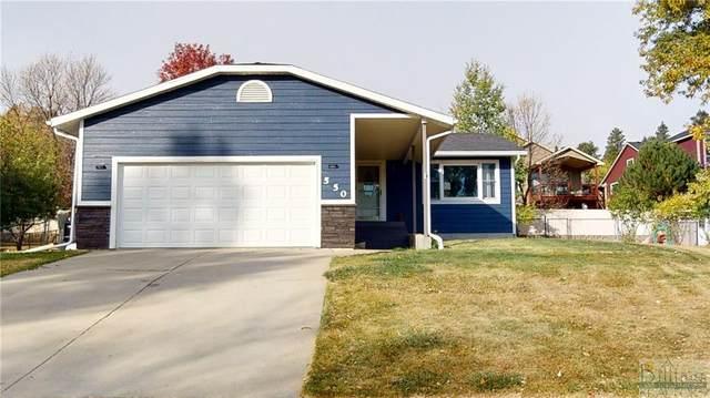 550 Pinon Drive, Billings, MT 59105 (MLS #311866) :: Search Billings Real Estate Group