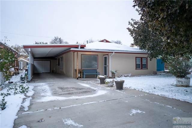 1018 N. 23rd Street, Billings, MT 59101 (MLS #312036) :: Search Billings Real Estate Group