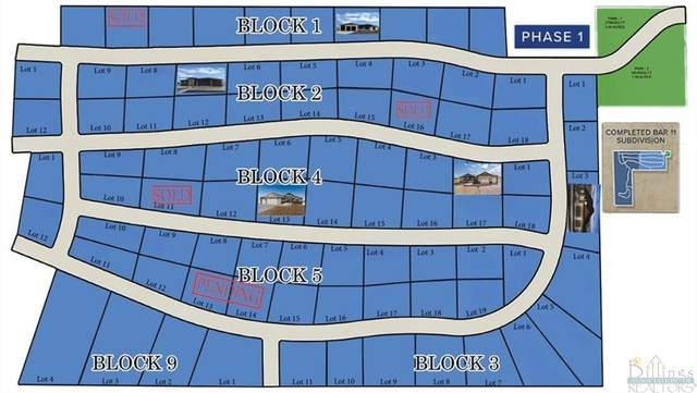 Lot 2 Blk 9 Bar 11 Drive, Billings, MT 59105 (MLS #313235) :: Search Billings Real Estate Group