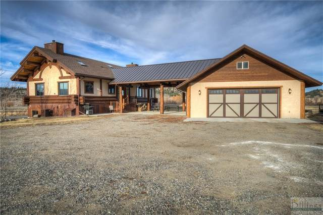 5 Work Creek Rd, Big Timber, MT 59011 (MLS #313600) :: Search Billings Real Estate Group