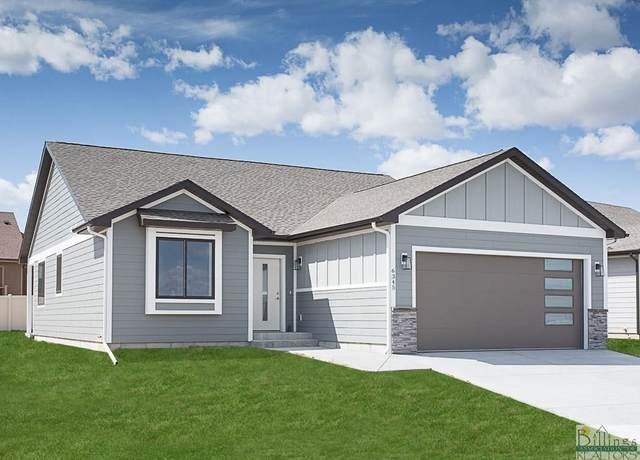 3106 Falcon Circle, Billings, MT 59106 (MLS #315245) :: Search Billings Real Estate Group