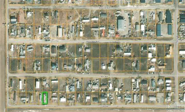 0 Clark Ave, Billings, MT 59106 (MLS #316364) :: Search Billings Real Estate Group