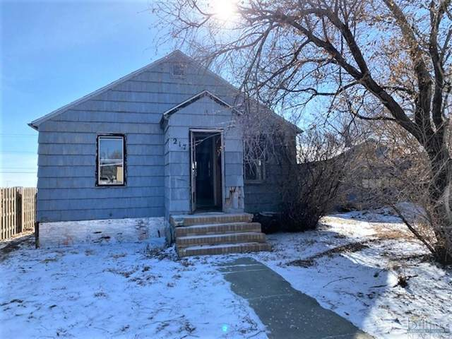 217 Hill Street Wolf Point, Other-See Remarks, MT 59201 (MLS #316502) :: Search Billings Real Estate Group