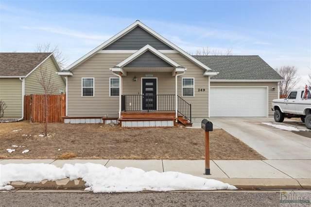 249 Viceroy Street, Billings, MT 59101 (MLS #316704) :: Search Billings Real Estate Group