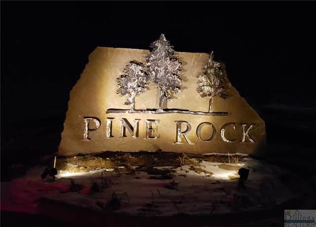 TBD Pine Rock Blk 3 Lot 8 Trail, Billings, MT 59105 (MLS #317657) :: MK Realty