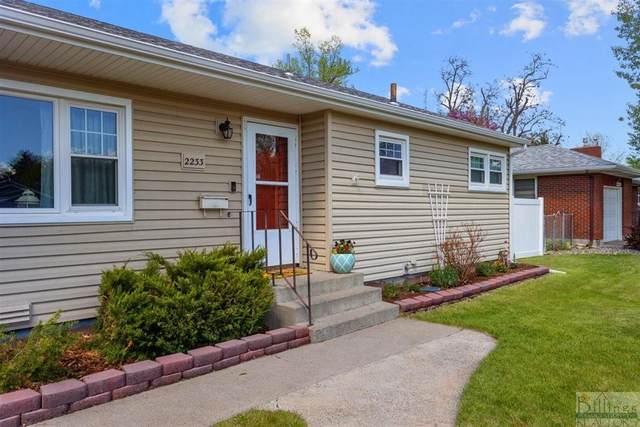 2233 Custer Ave, Billings, MT 59102 (MLS #318226) :: MK Realty