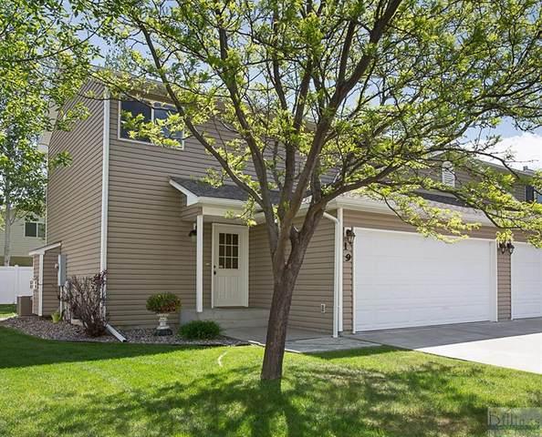 1226 Cottonwood Boulevard, Unit 19, Billings, MT 59105 (MLS #318270) :: MK Realty