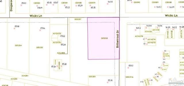 TBD Bitterroot Drive, Billings, MT 59105 (MLS #318388) :: Search Billings Real Estate Group