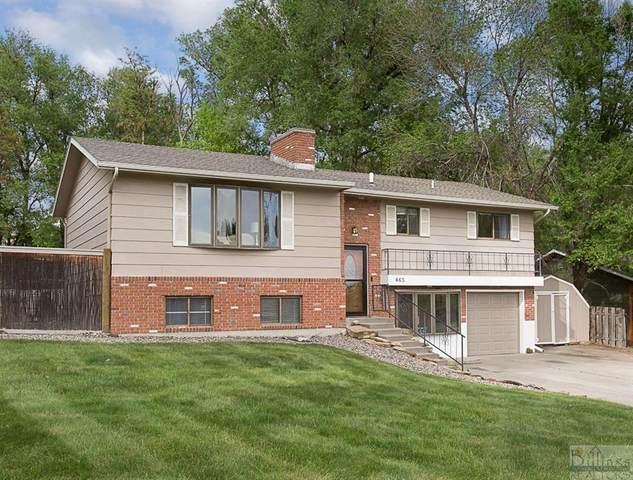 465 Shamrock Lane, Billings, MT 59105 (MLS #318525) :: MK Realty
