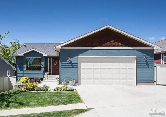 6645 Cove Creek Drive, Billings, MT 59106 (MLS #318576) :: Search Billings Real Estate Group