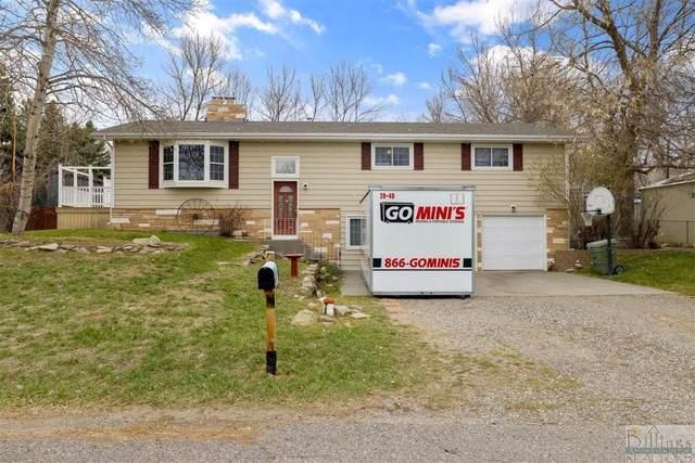 1106 Rose Dr, Billings, MT 59105 (MLS #319841) :: Search Billings Real Estate Group