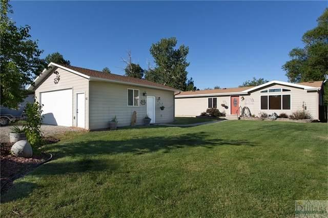 63 Abattoir, Absarokee, MT 59001 (MLS #321281) :: Search Billings Real Estate Group