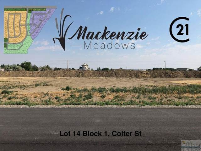 Lot 14 Block 1 Colter St, Billings, MT 59106 (MLS #321823) :: MK Realty