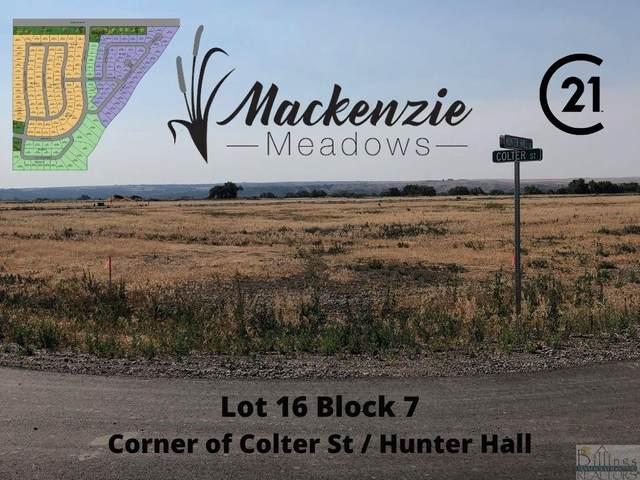Lot 16 Block 7 Colter St / Hunter Hall St, Billings, MT 59106 (MLS #321825) :: MK Realty