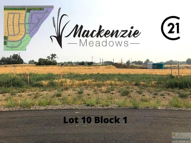 Lot 10 Block 1 Colter Street, Billings, MT 59106 (MLS #322615) :: MK Realty