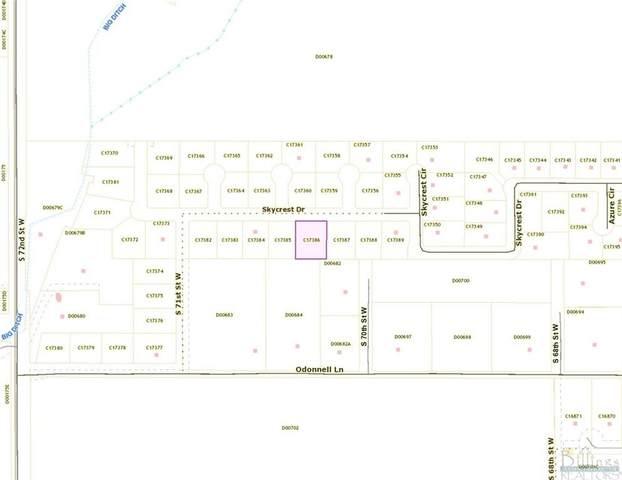 Lot 5 Skycrest Drive, Billings, MT 59106 (MLS #322645) :: Search Billings Real Estate Group