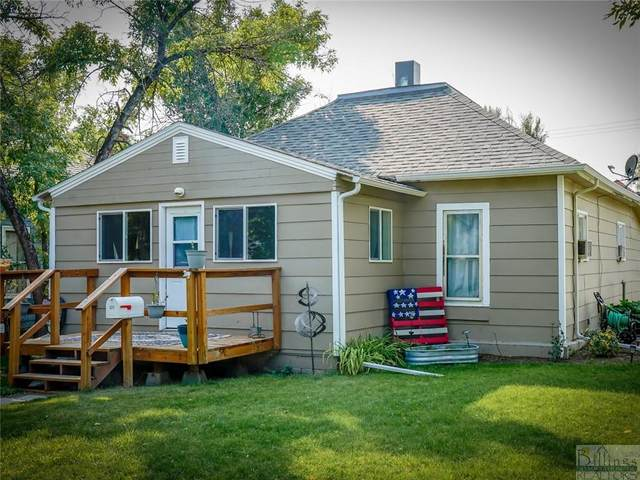 321 2nd Street West, Roundup, MT 59072 (MLS #322803) :: Search Billings Real Estate Group