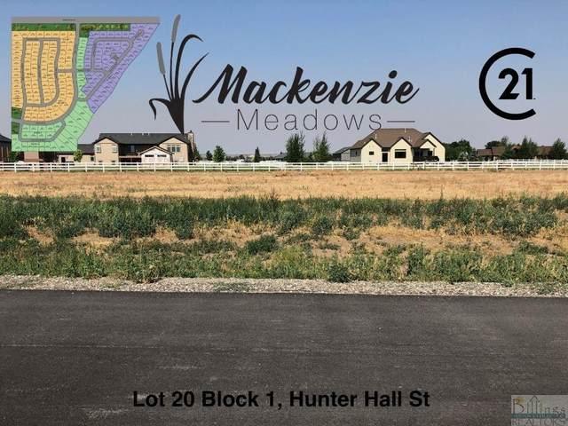 Lot 20 Block 1 Hunter Hall Street, Billings, MT 59106 (MLS #323168) :: The Ashley Delp Team