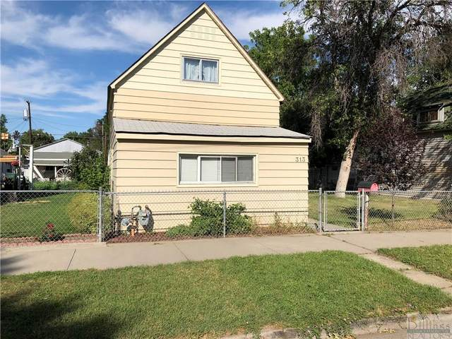 313 S 33rd, Billings, MT 59101 (MLS #323401) :: Search Billings Real Estate Group
