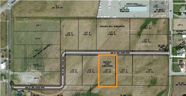 Blk 1 Lot 3 Buffalo Park Subd, Billings, MT 59101 (MLS #283223) :: Realty Billings