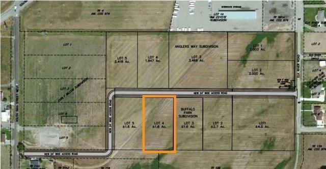 Blk 1 Lot 4 Buffalo Park Subd, Billings, MT 59101 (MLS #283224) :: Realty Billings