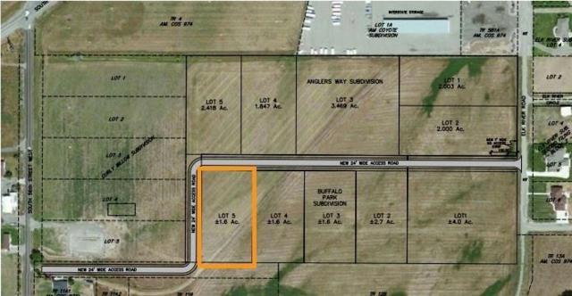 Blk 1 Lot 5 Buffalo Park Subd, Billings, MT 59101 (MLS #283225) :: Realty Billings
